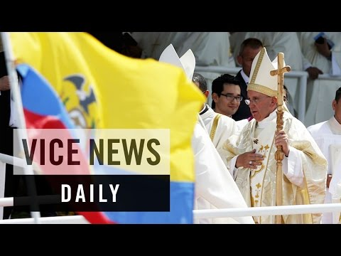 VICE News Daily: Pope Francis Delivers 'Homecoming' Mass in Ecuador