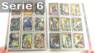 LEGO Ninjago Trading Card Game Serie 6 / Mappenupdate alle 252 Karten + alle 27 Limis