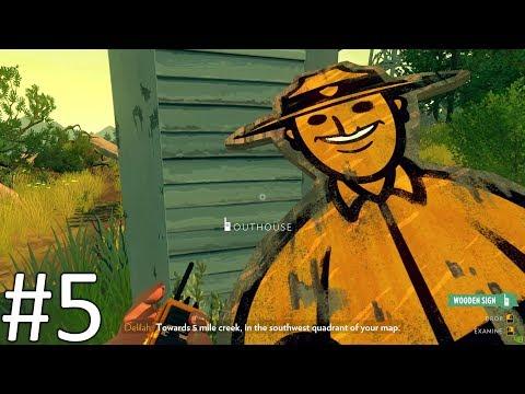 """Firewatch - """"Forrest Byrnes"""" - #5 - (Svenska)"""
