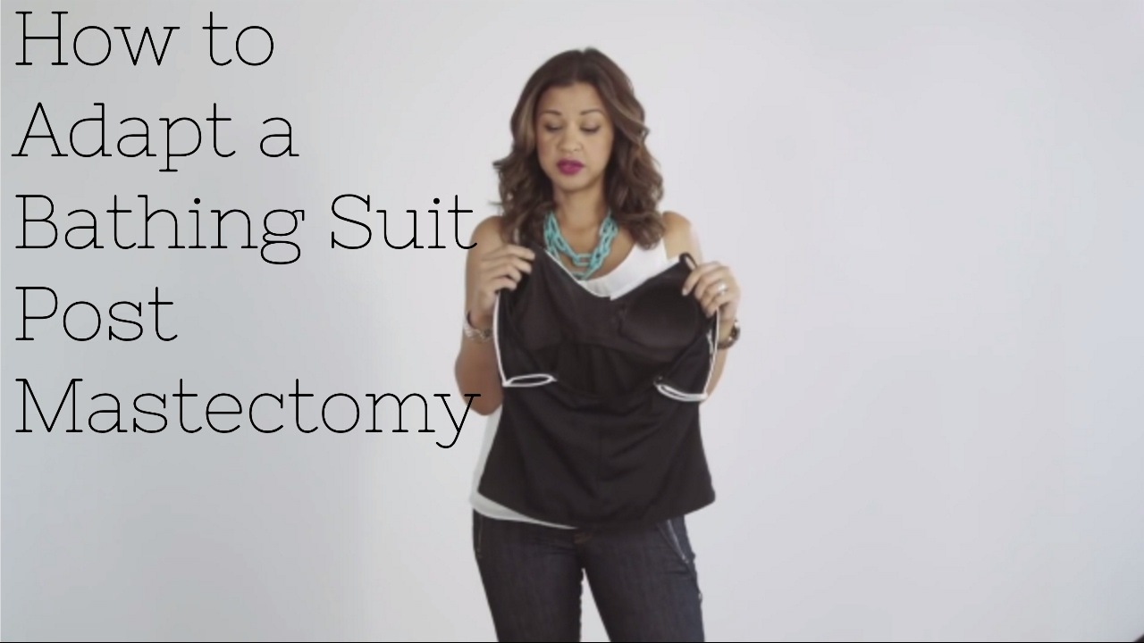 31dad1c244 LiveLaughLearn: How to Adapt a Bathing Suit Post Mastectomy - YouTube