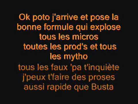 Soprano Feat Redk - Le labo ( Parole )