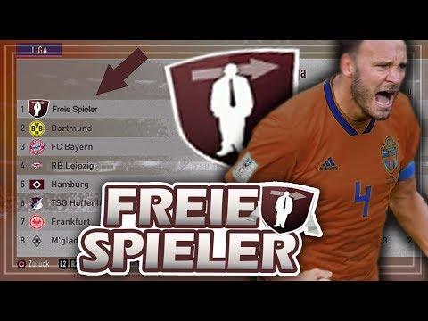 KANN EINE MANNSCHAFT AUS FREIEN SPIELERN IN DER BL BLEIBEN !?? 🔥😱 - FIFA 19 Experiment