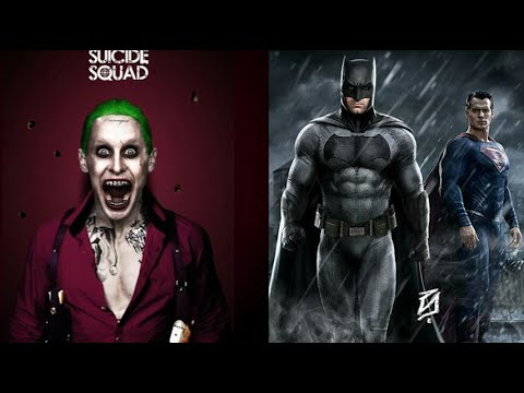 suicide squad and new batman v superman footage shown at cineeurope youtube. Black Bedroom Furniture Sets. Home Design Ideas