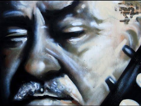 "Graffiti - ""Markos Vamvakaris"" - Μάρκος Βαμβακάρης"