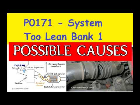P0171 System Too Lean Bank 1 | How to Fix Car Hesitation |