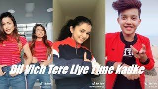 Dil Vich Tere Liye Time kadke Tik Tok   Riyaz AnkitaChhetri Gima Ashi AvneetKaur Luckydancer Arishfa