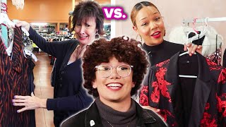 Mom Vs. Professional Stylist: Girls' Night Out Look