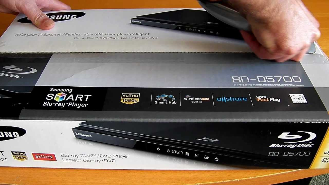 Samsung BD-D5700 Blu-ray Player Driver Download
