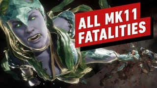 All Mortal Kombat 11 Fatalities and Fatal Blows (MK 11)