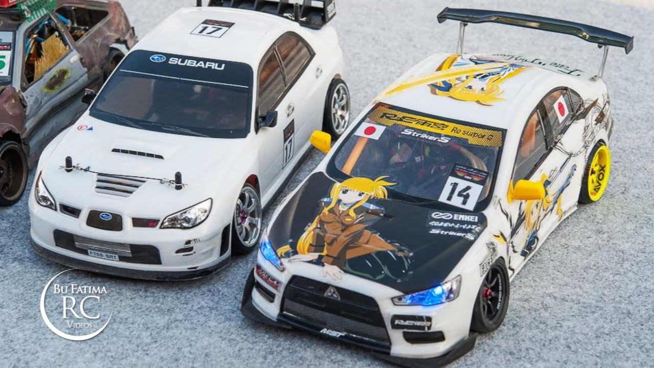 Rc Drift Mitsubishi Lancer Evo X ????? ????? ?????? Youtube