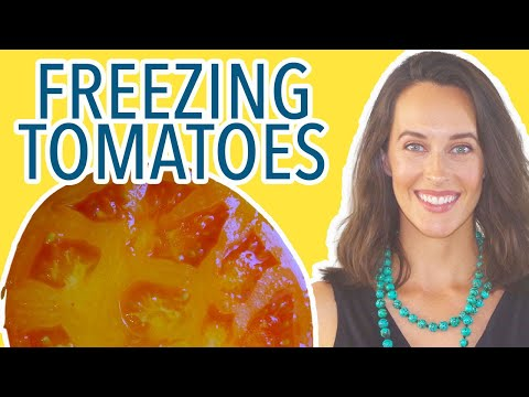 How To Freeze Tomatoes - Store Tomatoes For The Winter