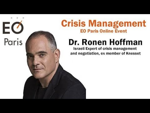 Live Talks. Crisis Management with Victoria Mikhailova and Dr. Ronen Hoffman