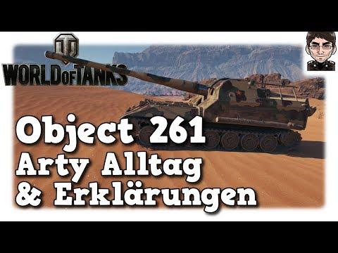 World of Tanks - Object 261, Arty Alltag & Erklärungen [deutsch   gameplay] thumbnail