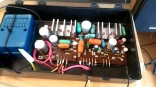 Самодельный усилитель звука из магнитофона маяк 233