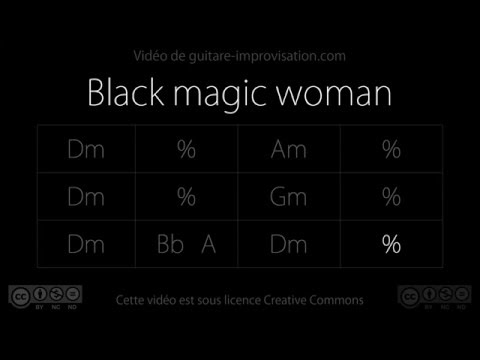 Black magic woman (Fleetwood Mac) : Backing Track