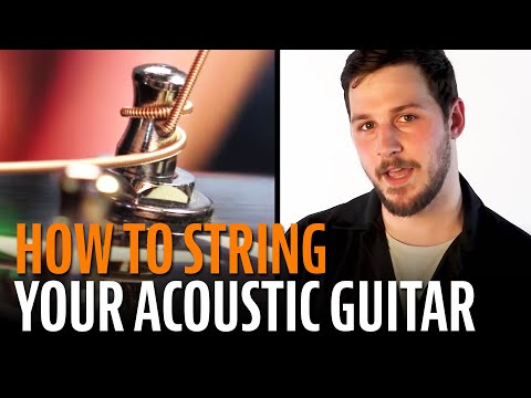how-to-string-an-acoustic-guitar