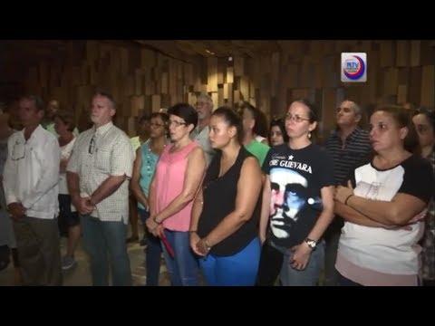Prensa Latina rinde homenaje al Che.