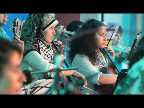 'Here there's peace, not war': Gaza Music School (Documentary teaser)
