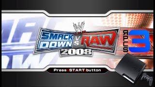 WWE SmackDown vs. Raw 2008 - RPCS3 TEST (Playable)