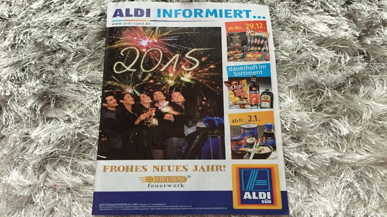 Aldi Süd - Feuerwerk Prospekt - Silvester 2014/2015 - YouTube