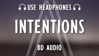 Justin Bieber - Intentions (8D AUDIO / Lyrics) ft. Quavo