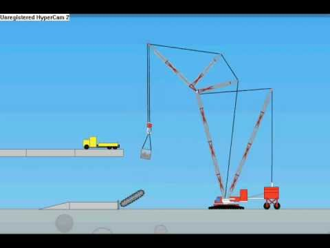 Incredibots 2 - Crawler crane