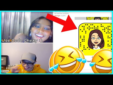 MILF GAVE ME HER SNAPCHAT ON OMEGLE LIVE