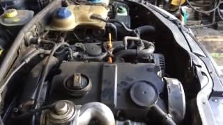 видео VW PASSAT не заводится на горячую.