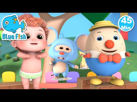 humpty-dumpty-sat-on-a-wall-|-baby-songs-&-nursery-rhymes---blue-fish-|-4k-videos