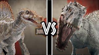 Indominus Rex VS Spinosaurus ¿Quién Gana? | Versus