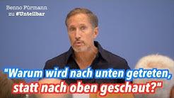 """Benno Fürmann über die """"wirklichen Probleme"""" in unserer Gesellschaft #unteilbar"""