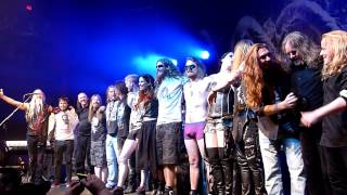 Nightwish Endless Forms Most Beautiful North American Tour 2015 Finale