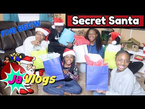 Secret Santa Gift Exchange | Five Below | Vlogmas Day 16