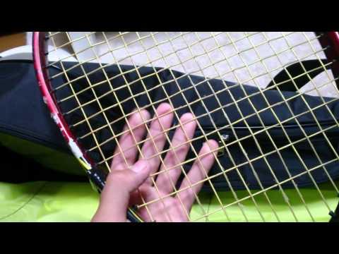 新しいテニスバッグの紹介と使った感想と中身