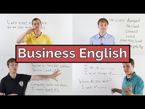 Learn Business English | Conversation | Vocabulary | 19 Lessons