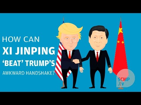 How can Xi Jinping 'beat' Trump's awkward handshake?