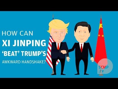 How can Xi Jinping 'beat' Trump's awkward handshake?