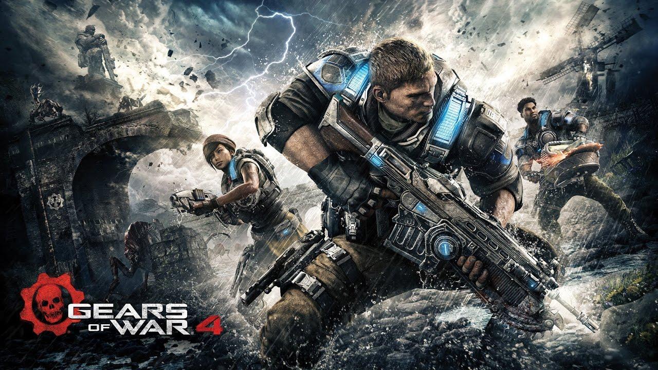 GEARS OF WAR 4 - Gameplay do Início, Dublado e Legendado em Português! (PC 1080p 60fps)