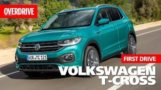 2019 Volkswagen T-Cross | First Drive | OVERDRIVE