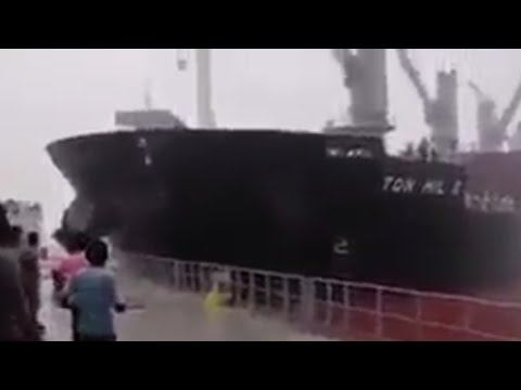 SHIP COLLISION AT Karachi WITH VESSEL AT ANCHOR