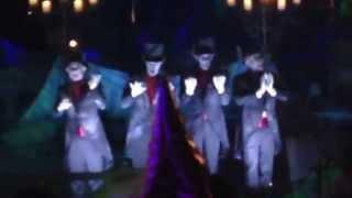 Cadaver Dans Sing Oogie Boogie Song 2015 Mickey's Halloween Party Disneyland Resort