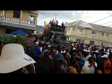 2019 Opening Of Carnival in Portsmouth Dominica