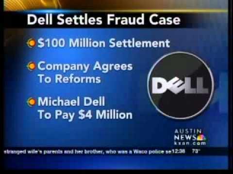 Dell settlement in civil fraud case