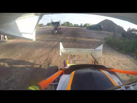 Paradise speedway SRP 600 micro sprint heat race