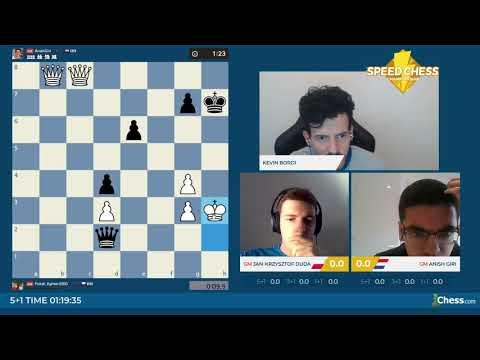 Speed Chess Championship: Anish Giri Contre Jan-Krzysztof Duda