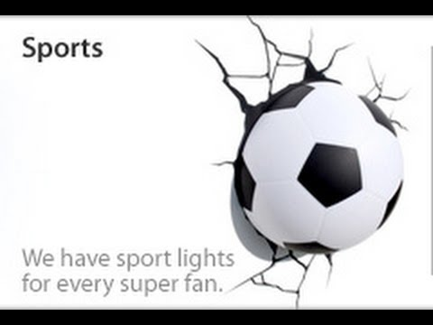 Luminaria 3D Bola Futebol 3DLightFX - YouTube 0ee9a199791de