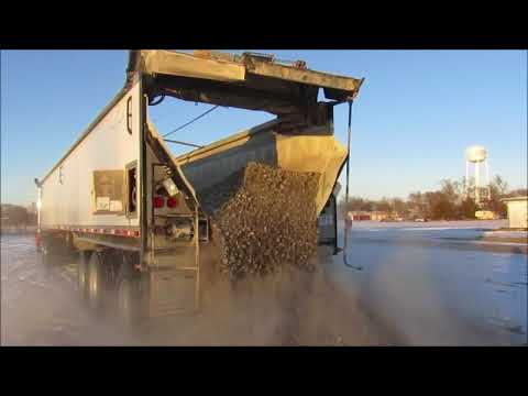 2009 Aulick Aluminator 9-75 live bottom trailer for sale   no-reserve auction January 31, 2018