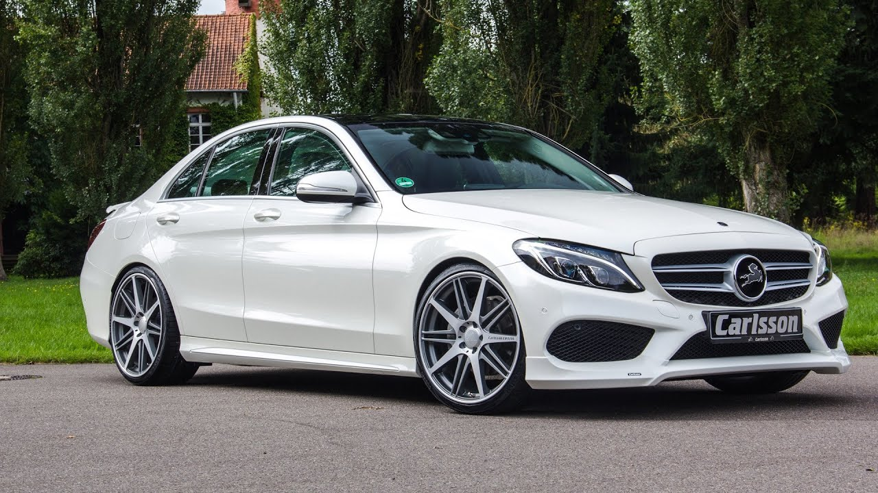 2015 carlsson mercedes benz c class interior and exterior youtube