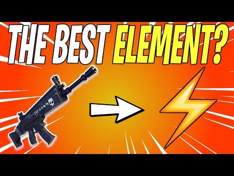 What Element Should I Have On My Gun? | Fortnite Save The World (Fortnite School)