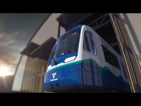 New Siemens light rail vehicles
